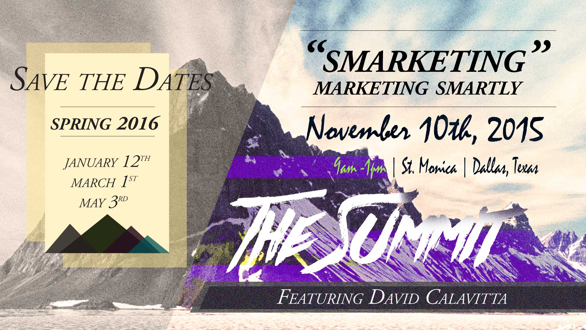 November Summit Flyer
