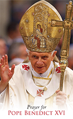 Prayer for Pope Benedict XVI - English