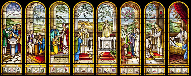 church and sacraments Sacramentals—in instituting the sacraments christ did not determine the matter and form down to the slightest detail, leaving this task to the church, which should.